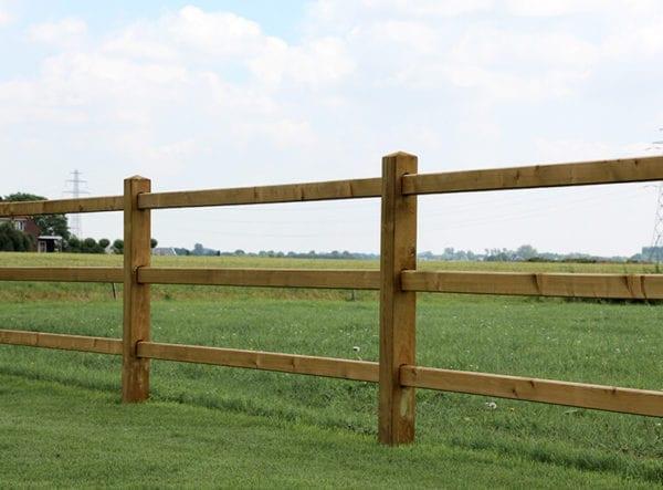 Omheining geschikt voor paarden, honden en schapen