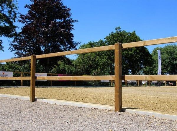 omheining, opschroef traditioneel - Paardenbak