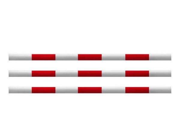 Houten hindernisbalk / springbalk (Lengte 3 meter)