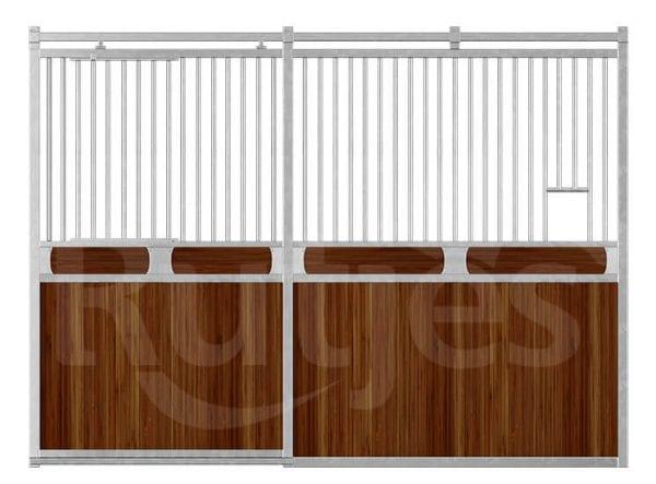 Voorwand Gentleman_schuifdeur_bamboe_horizontale plank