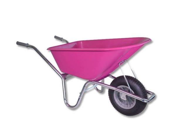 Kruiwagen - 100 liter - roze