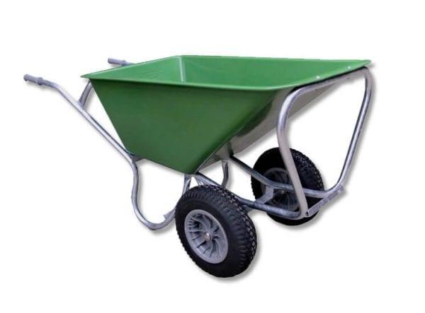 kruiwagen PE groen 160L