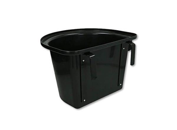 Voerbak lichtgewicht (Kleur: zwart)