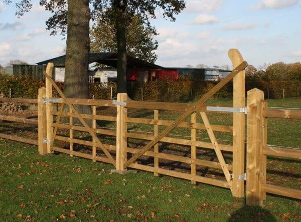 Engelse poort hout - Wales - dubbel