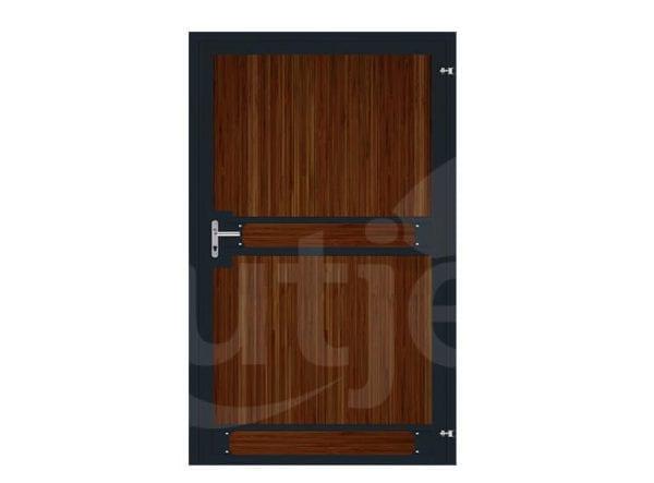 Luxe staldeur uit één geheel - met cilinderslot