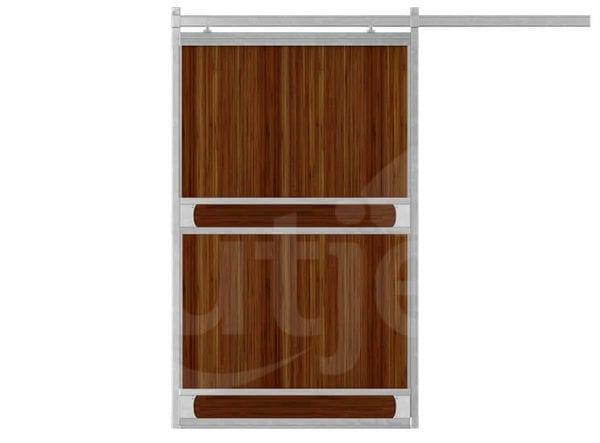 Schuifdeur enkel-bamboe-plank