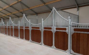Luxe stalinrichting voor een nieuwbouw stal