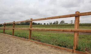Referentie project - omheining paardenbak